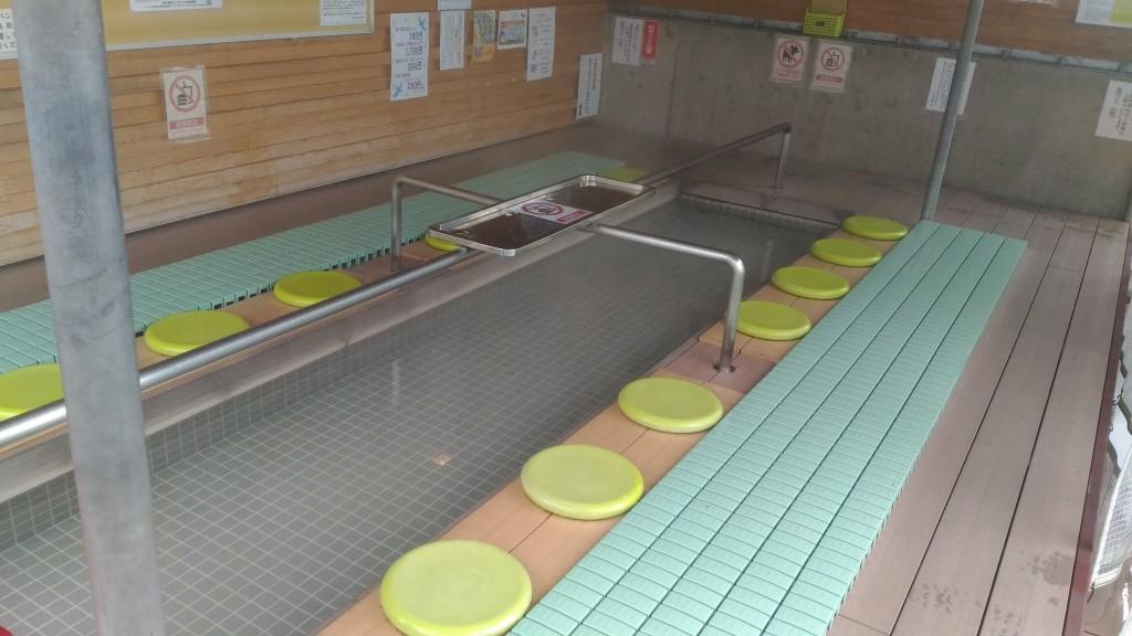 道の駅池田温泉の足湯