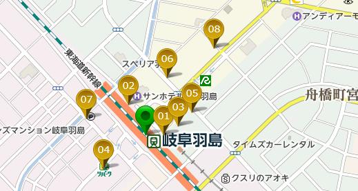 岐阜羽島駅 激安駐車場