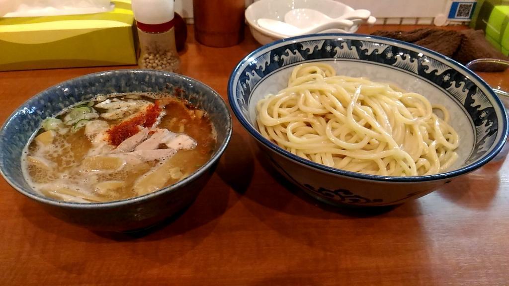 中華そば中村屋のつけ麺
