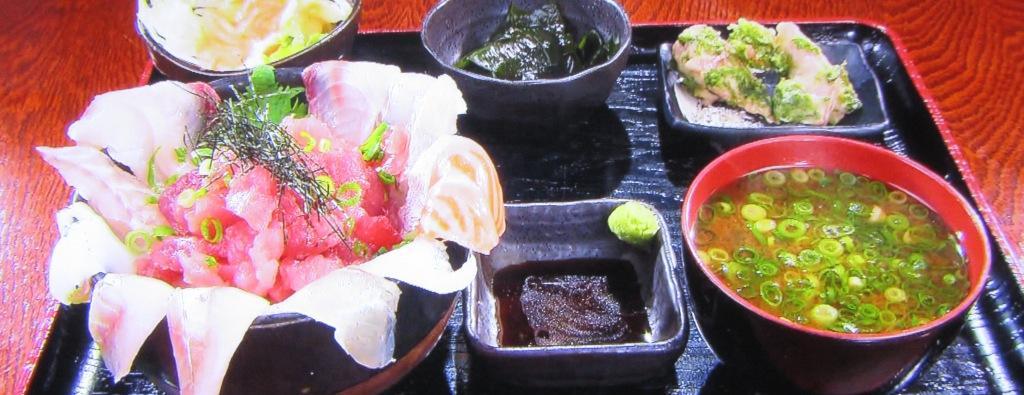 まぐろの家 心の海鮮丼ランチ