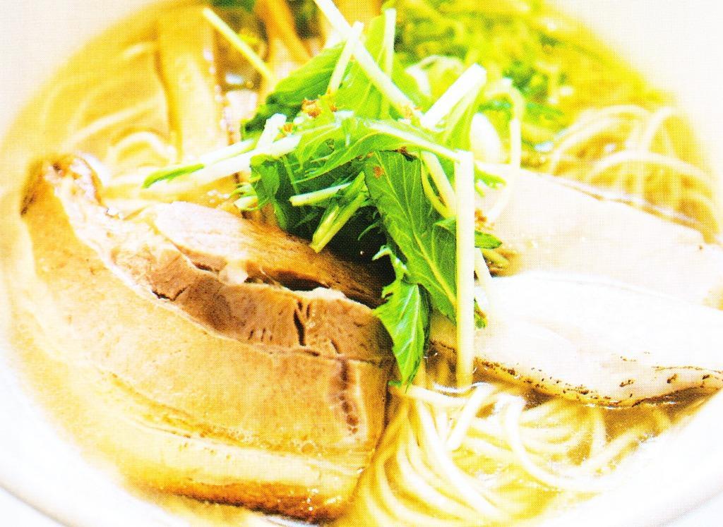 麺や風虎の塩ラーメン