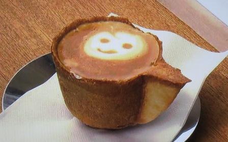 宮川朝市のクッキーカップコーヒー