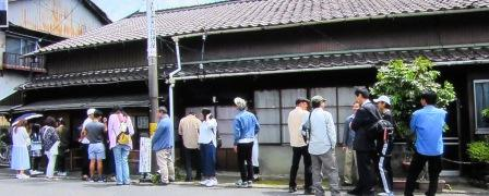 信濃屋のうどん 岐阜県多治見市