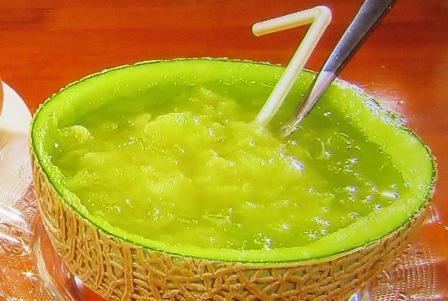 果実香の生メロンジュースモーニング