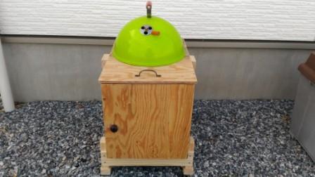 木製燻製器を自作