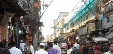 インドの町