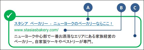 サイトの最適化(見栄えの良い検索結果)