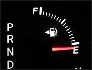 ガソリンメーター 給油口