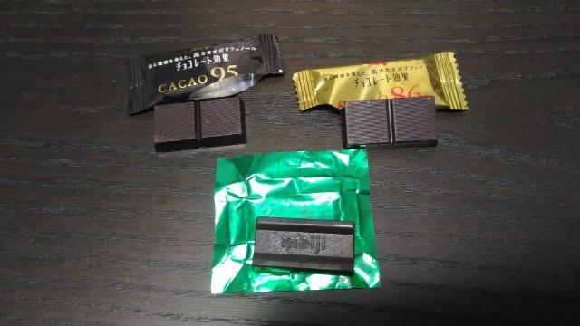 チョコレート効果中身