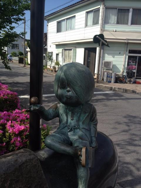 鬼太郎 銅像