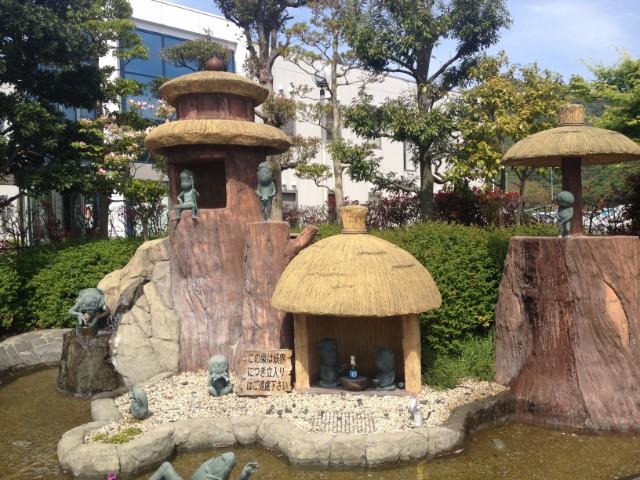 水木しげるロード 公園
