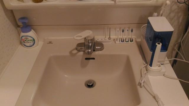 ジェットウォッシャーがある洗面所