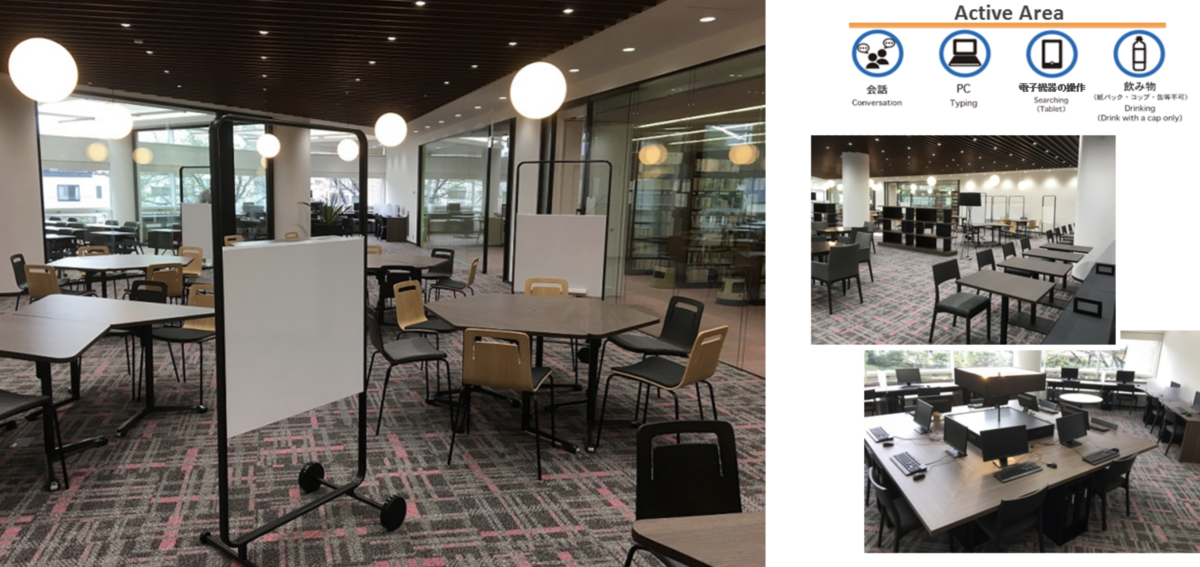 早稲田で勉強ができる無料カフェ-中央図書館