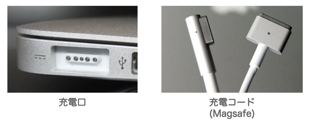 macbook/air/proのmagsage充電器