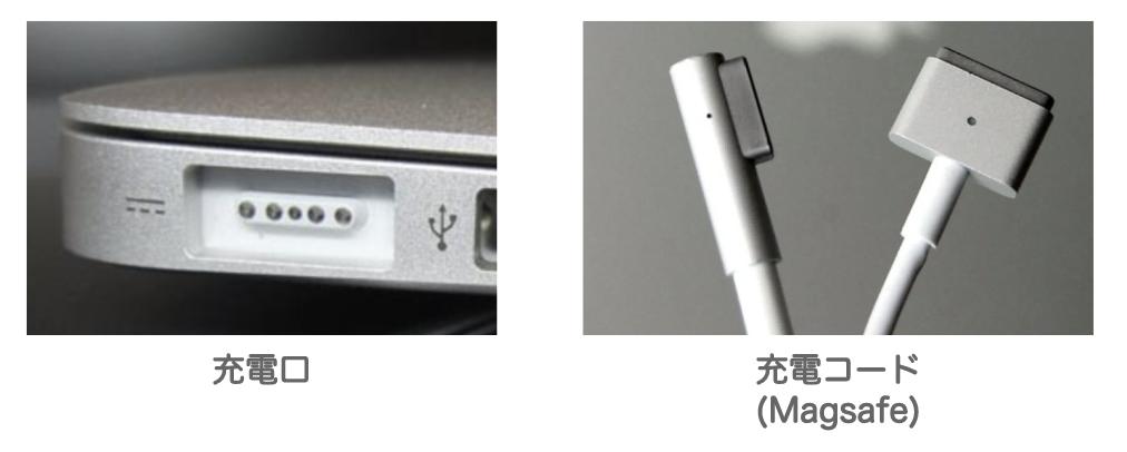 macbook/air/proのmagsage充電器