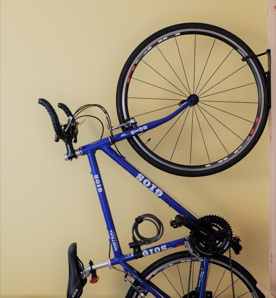 自作バイクスタンド 省スペースだからアパートでも大丈夫 おススメのロードバイク保管方法 Cycle Fish