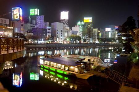 福岡市・中洲・那珂川の夜景
