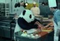 パンダが暴れるエジプトのCM