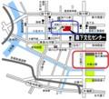 のらくろ館(森下文化センター)と東京都現代美術館はすぐ近く