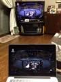 ネット中継の画像を大型テレビに反映させる