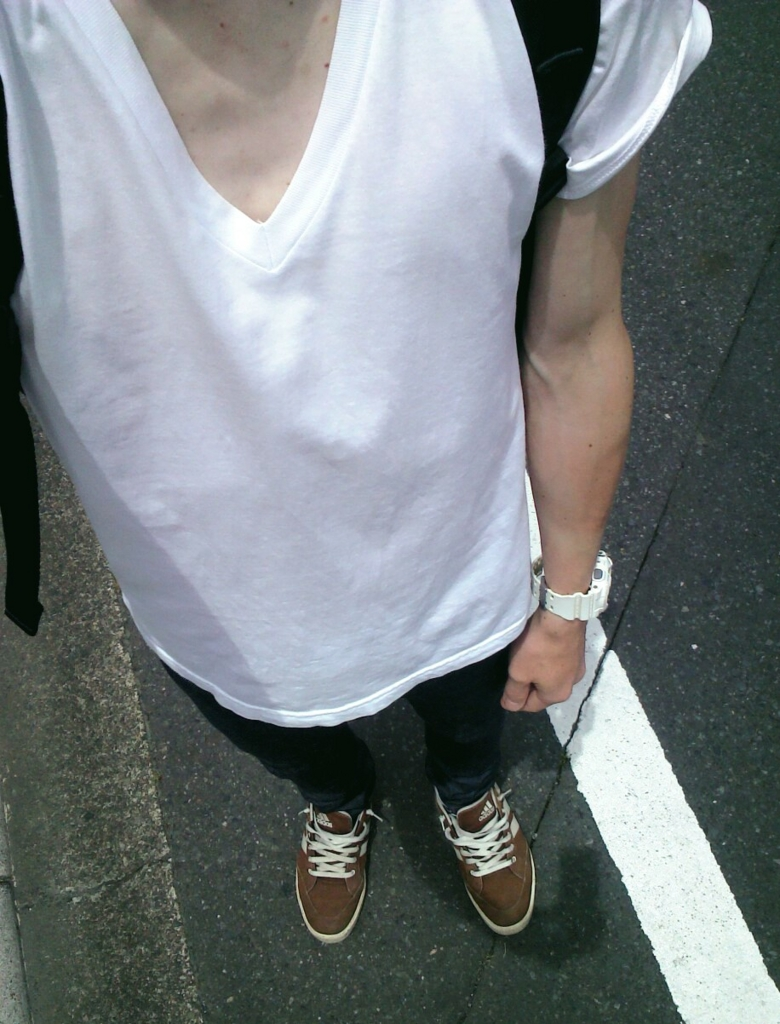 american apparel Tシャツ