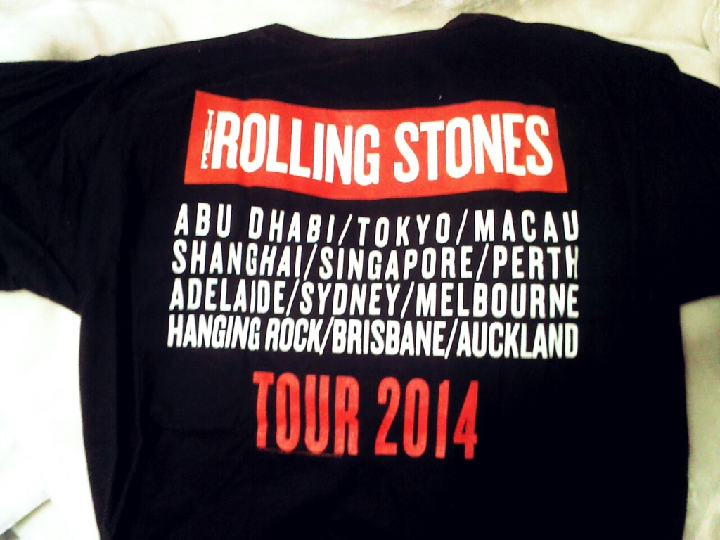rolling stones Tシャツ