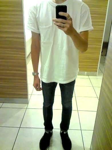 GoodwearのTシャツの着用イメージ