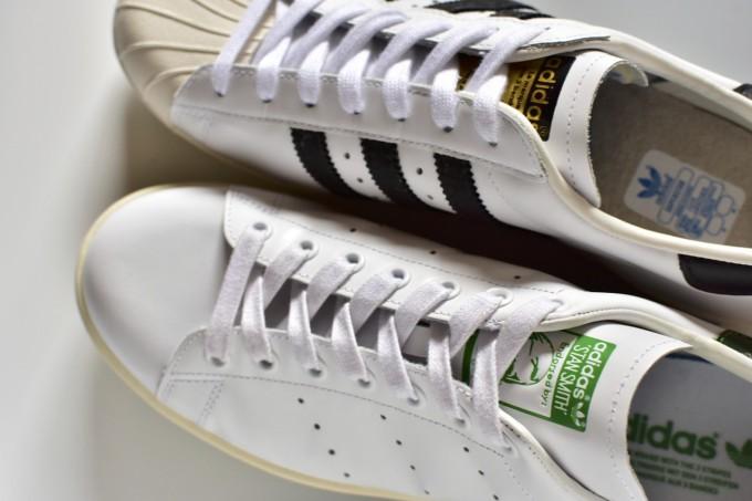 adidas スーパースターとスタンスミス