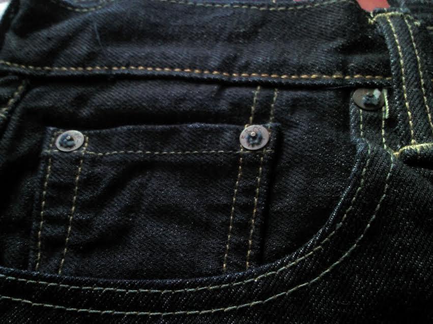 リーバイス501CTのポケット