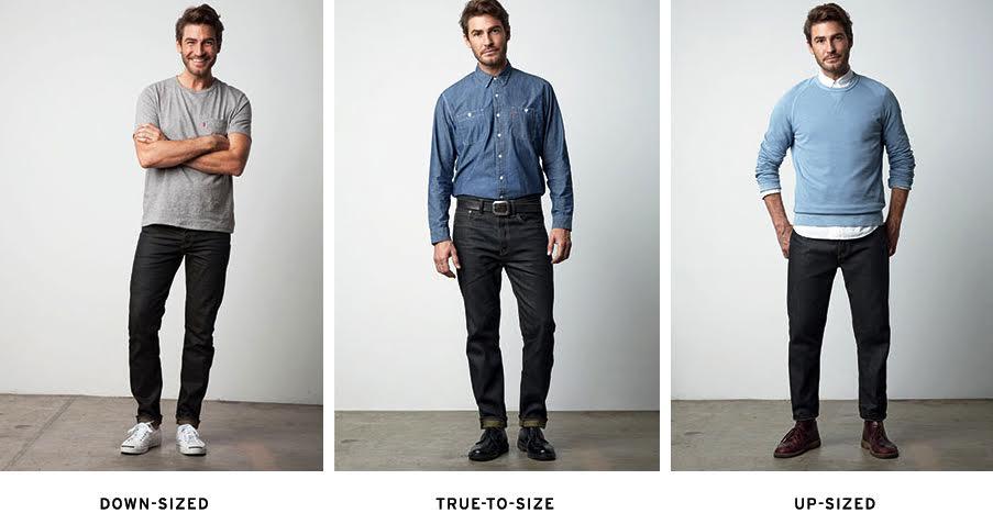 リーバイス501CTの着用イメージ