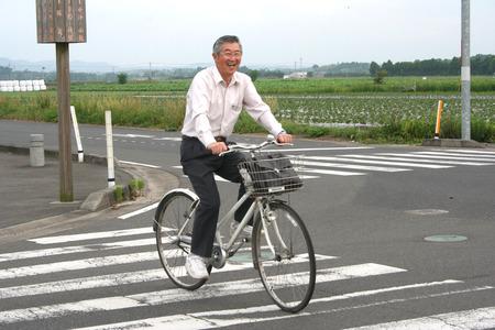 自転車おじいちゃん