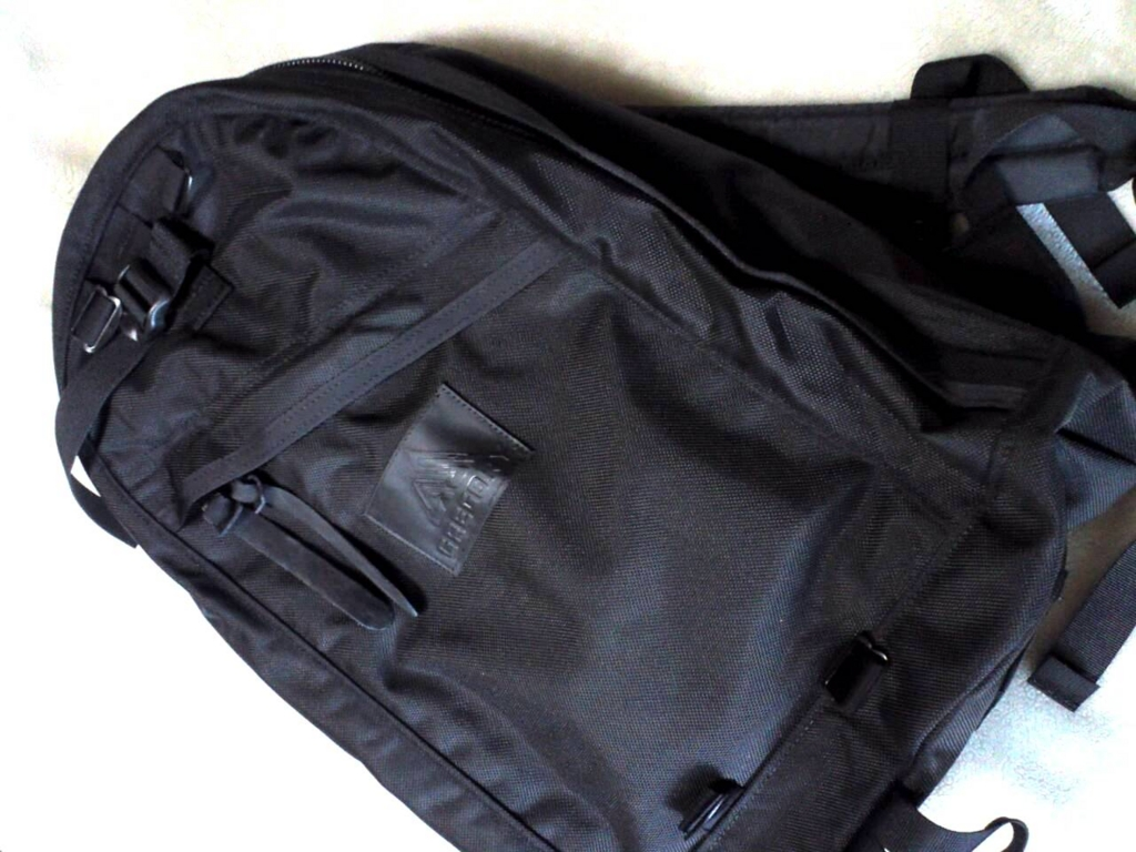 gregory day pack all black