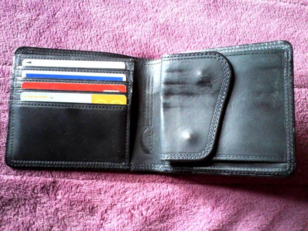 corbo slate 折財布