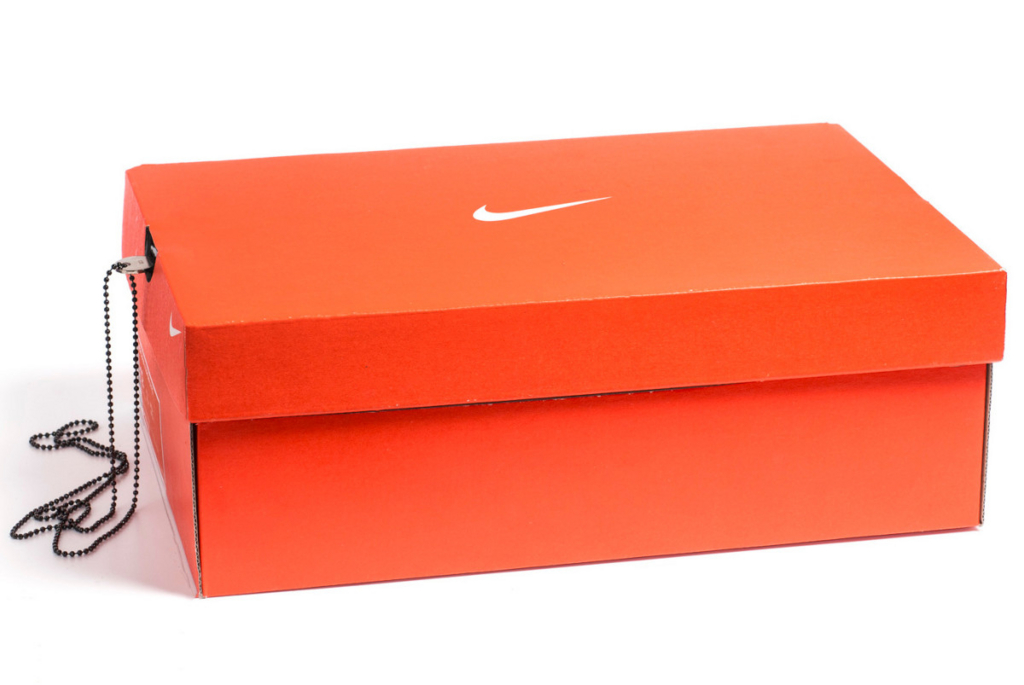 nike shoes box