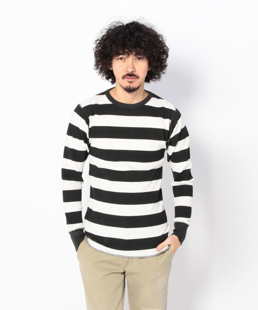schottのボーダーTシャツ
