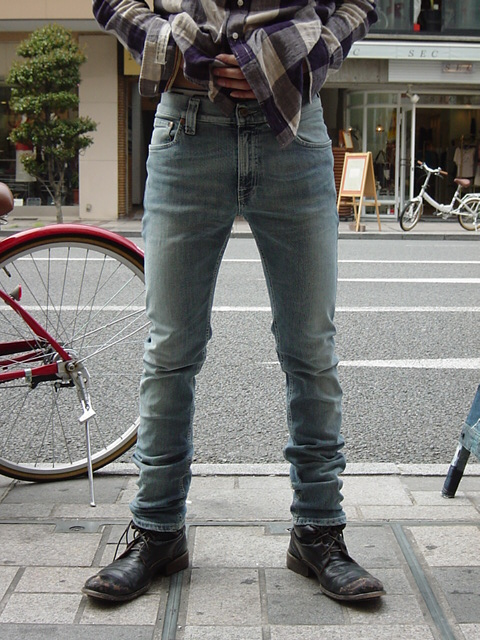 dior hommeのジーンズ