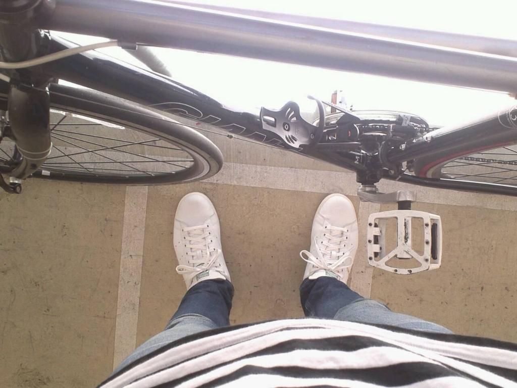 自転車とジーンズ