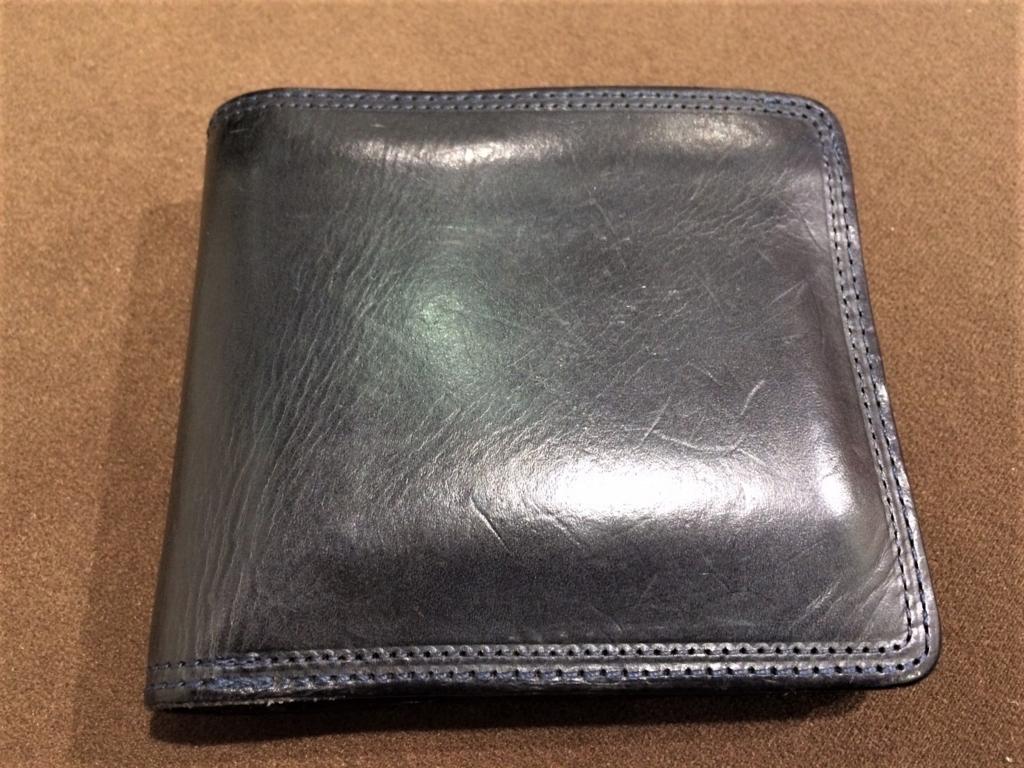 corbo. slateの二つ折り財布