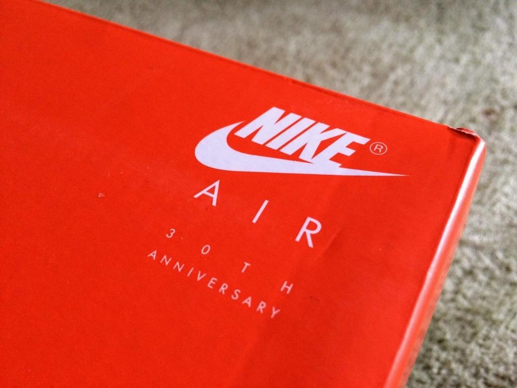 nike air max anniversaryの箱