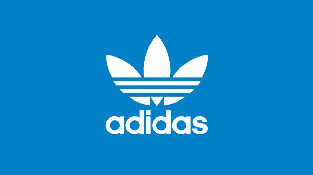 adidasのロゴ