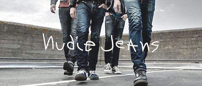 Nudie Jeansロゴ