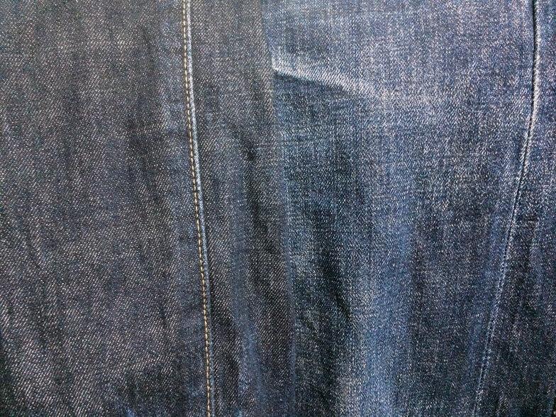 4度の洗濯を経た501CTの色味