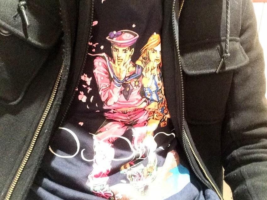 ジョジョリオンのウルトラジャンプ応募者全員サービスTシャツ
