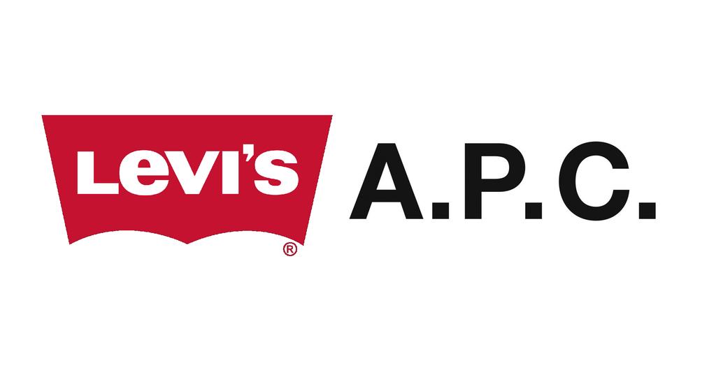 リーバイスとAPCのロゴ