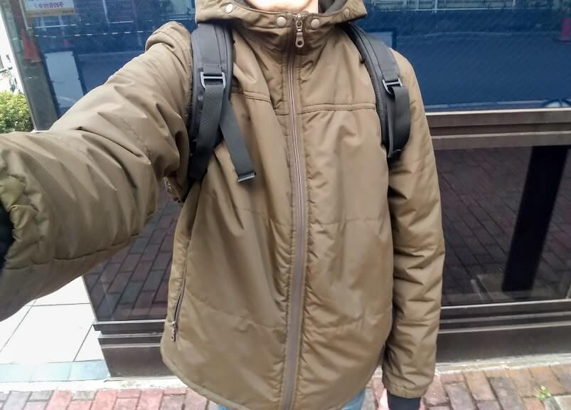 古いユニクロのジャケット