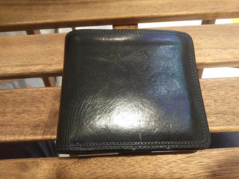 2年以上使ったCorbo. slateの折財布