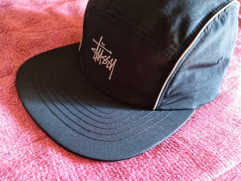 stussy camp cap