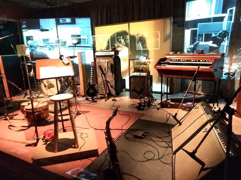 ストーンズのスタジオ