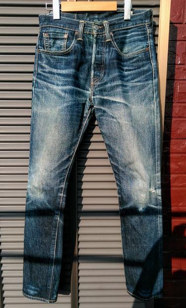 3年3ヶ月穿いたコーンデニムの501CT