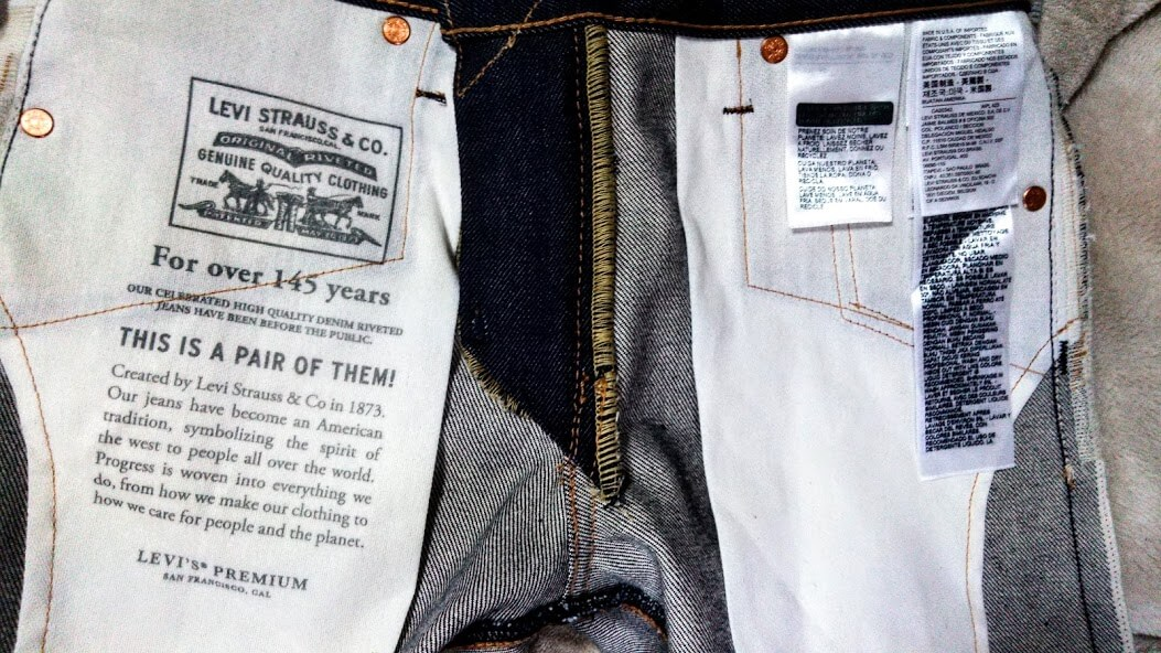 Levi's 511 made in the usaのスレーキ